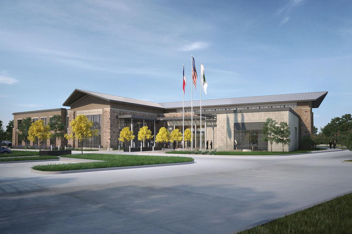 Flower Mound s new town hall set for construction News