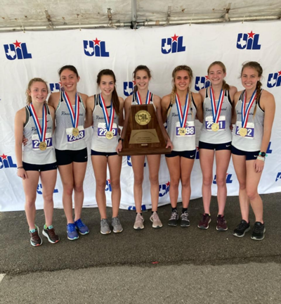 Flower Mound girls cross country