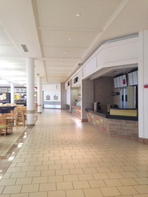 Collin Creek Mall Food Court