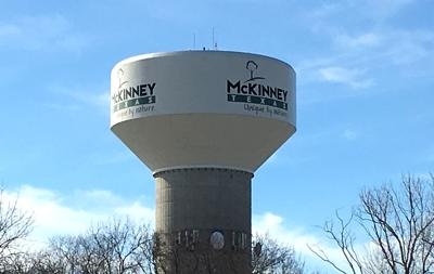 McKinney water tower