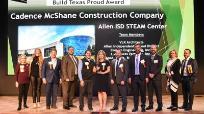 TEXO Build Texas Proud Award