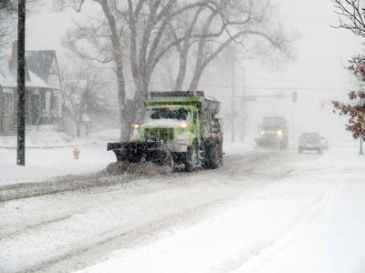 Snow storm Feb. 2021