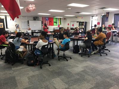 Coppell ISD classroom