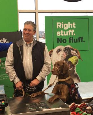 Pet retailer donates $50K to Patriot Paws