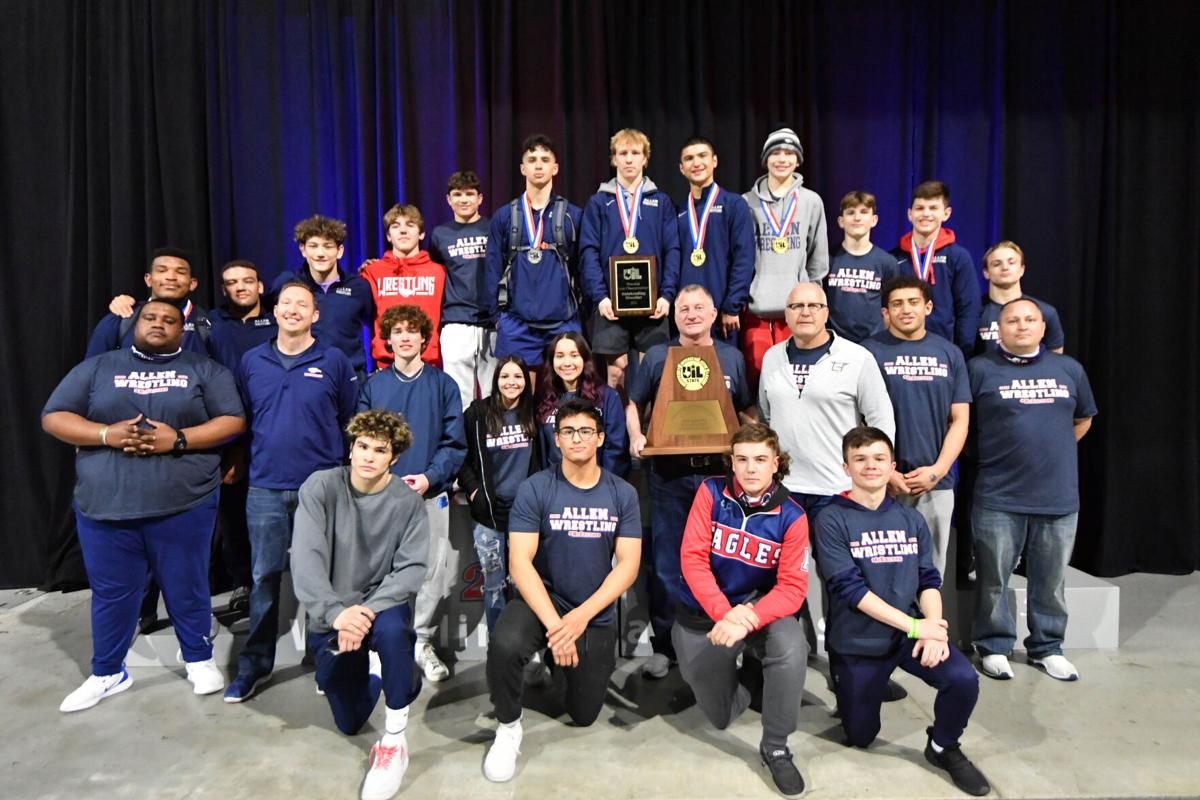 Allen High School wins its 12th concsecutive Texas State Boys Team Championship