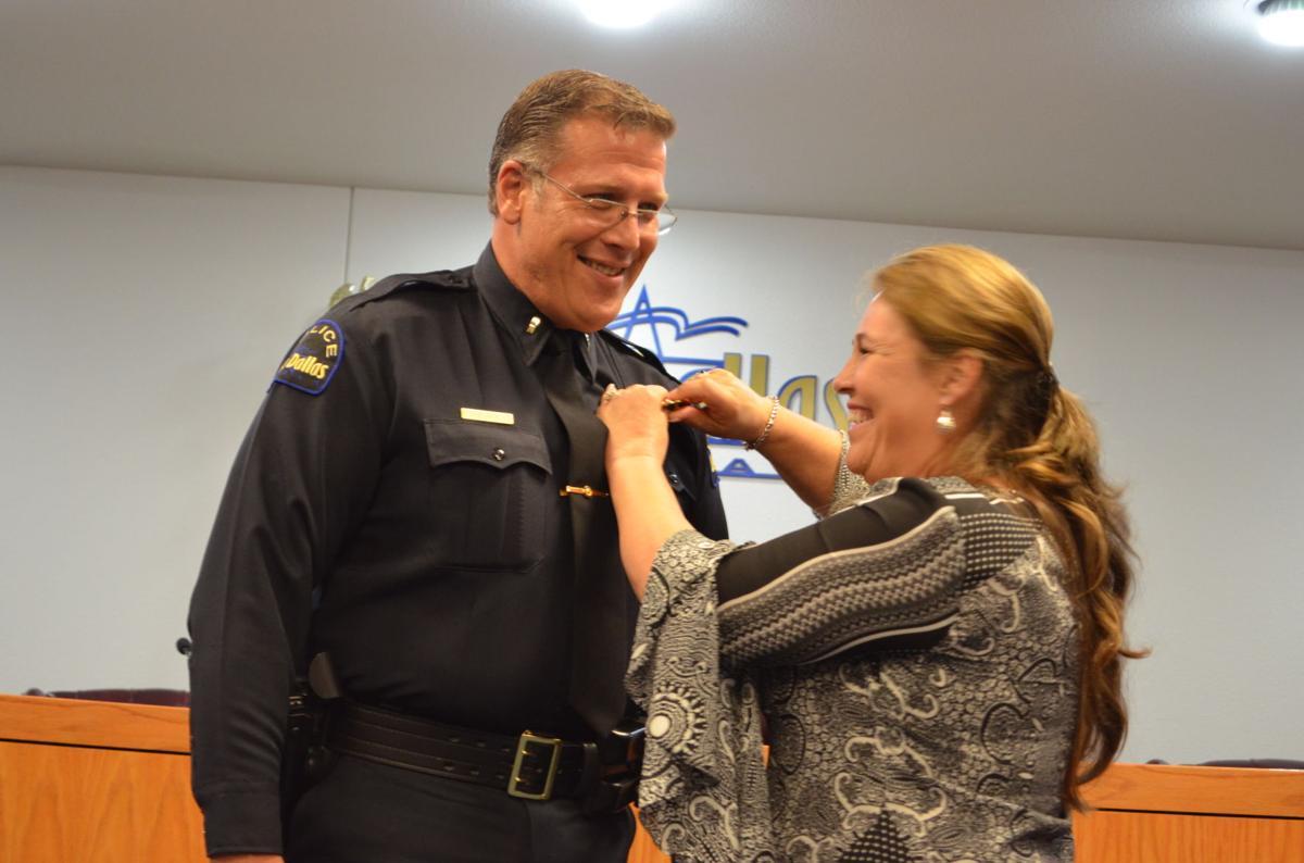 Lake Dallas Police Department debuts new badges | News