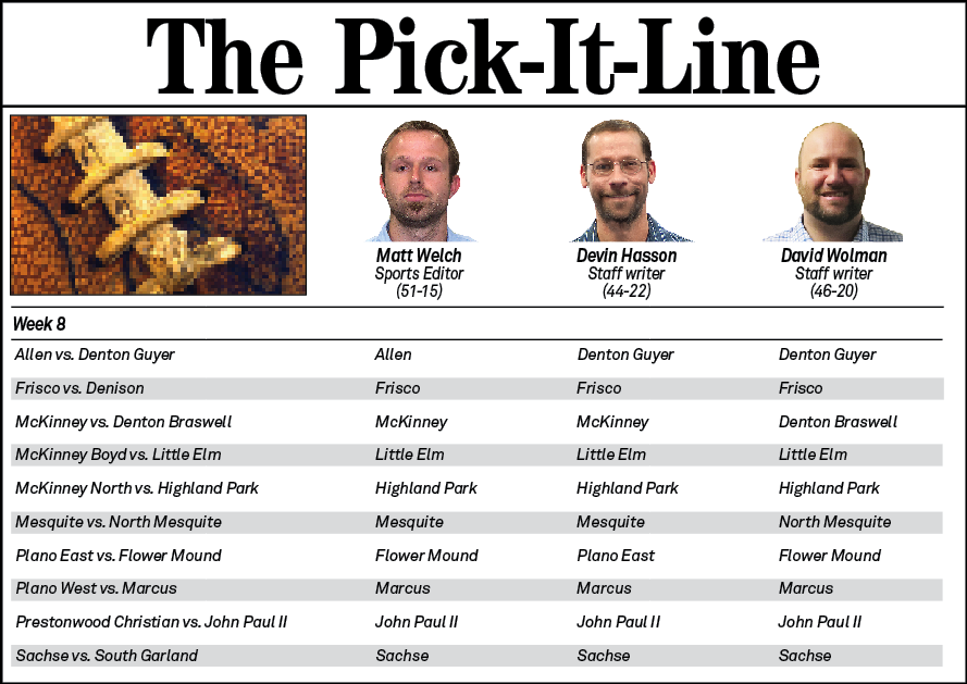 Pick-It Line Week 8