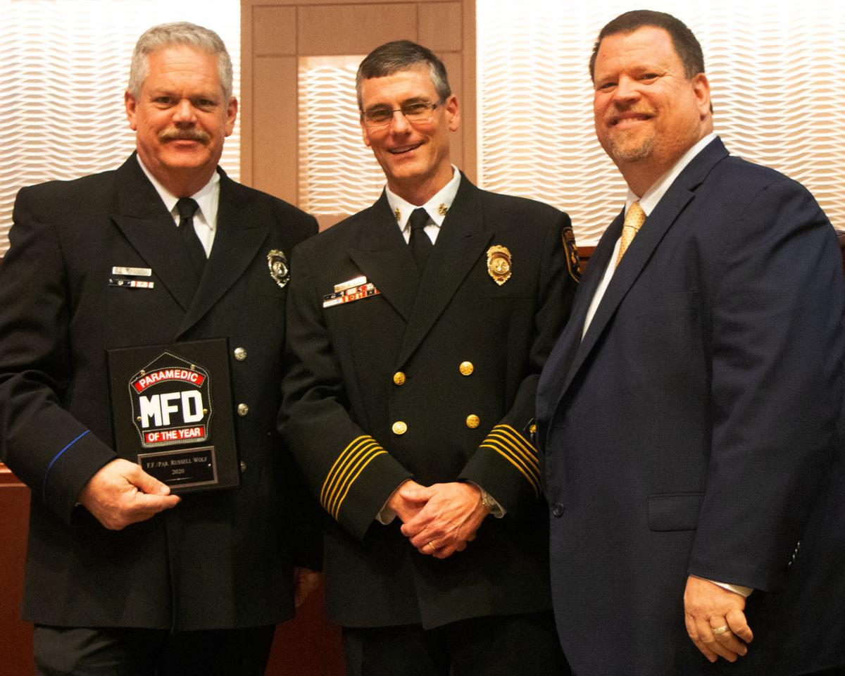 Mesquite Fire Department presents 2020 Meritorious Awards