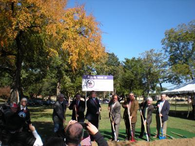 Mesquite breaks ground on new Veterans Memorial