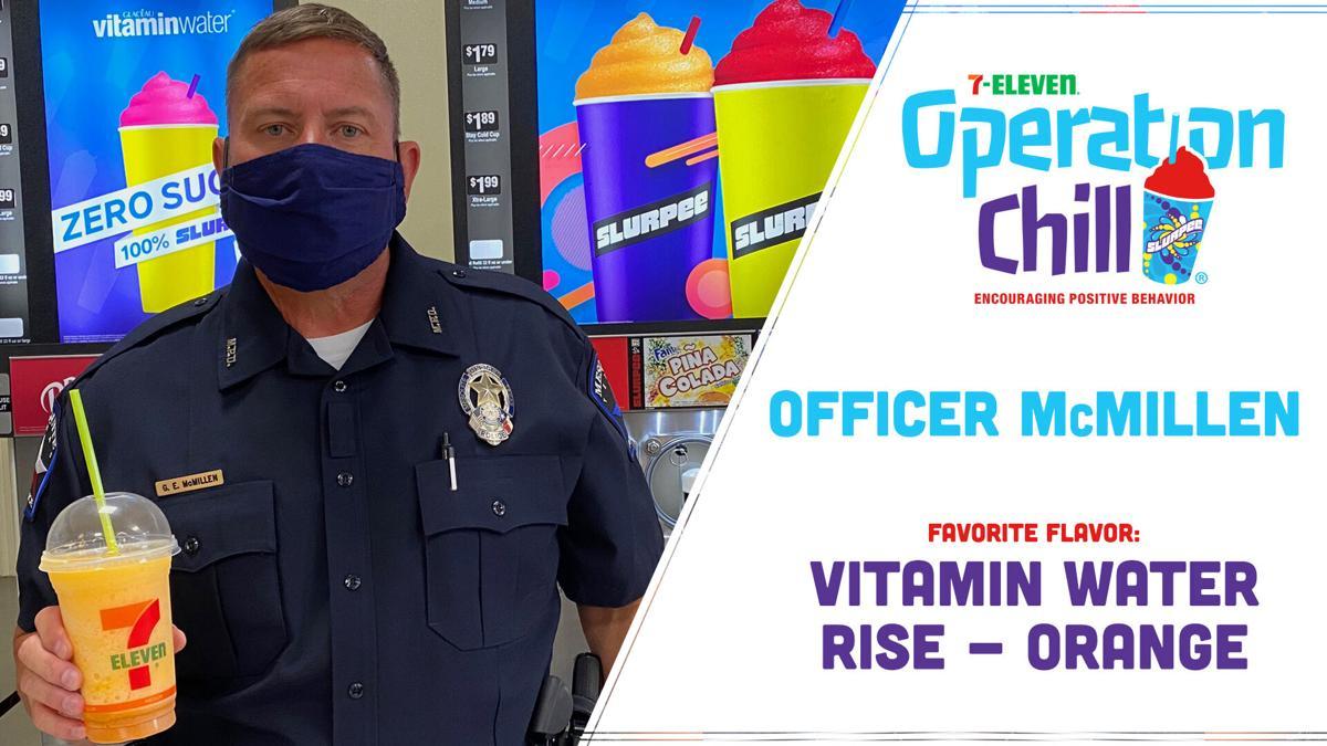 Mesquite Police Officer - Fav Flavor Vitamin Water Rise Orange - 7-Eleven Operation Big  Chill Campaign - Mesquite TX.jpg