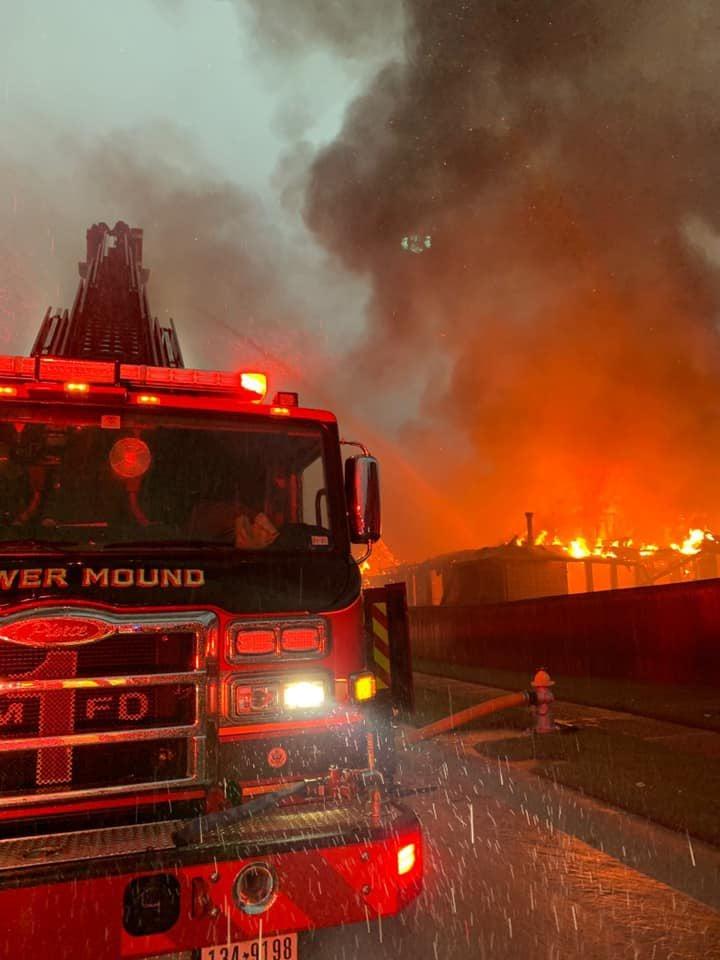 Lantana house fire