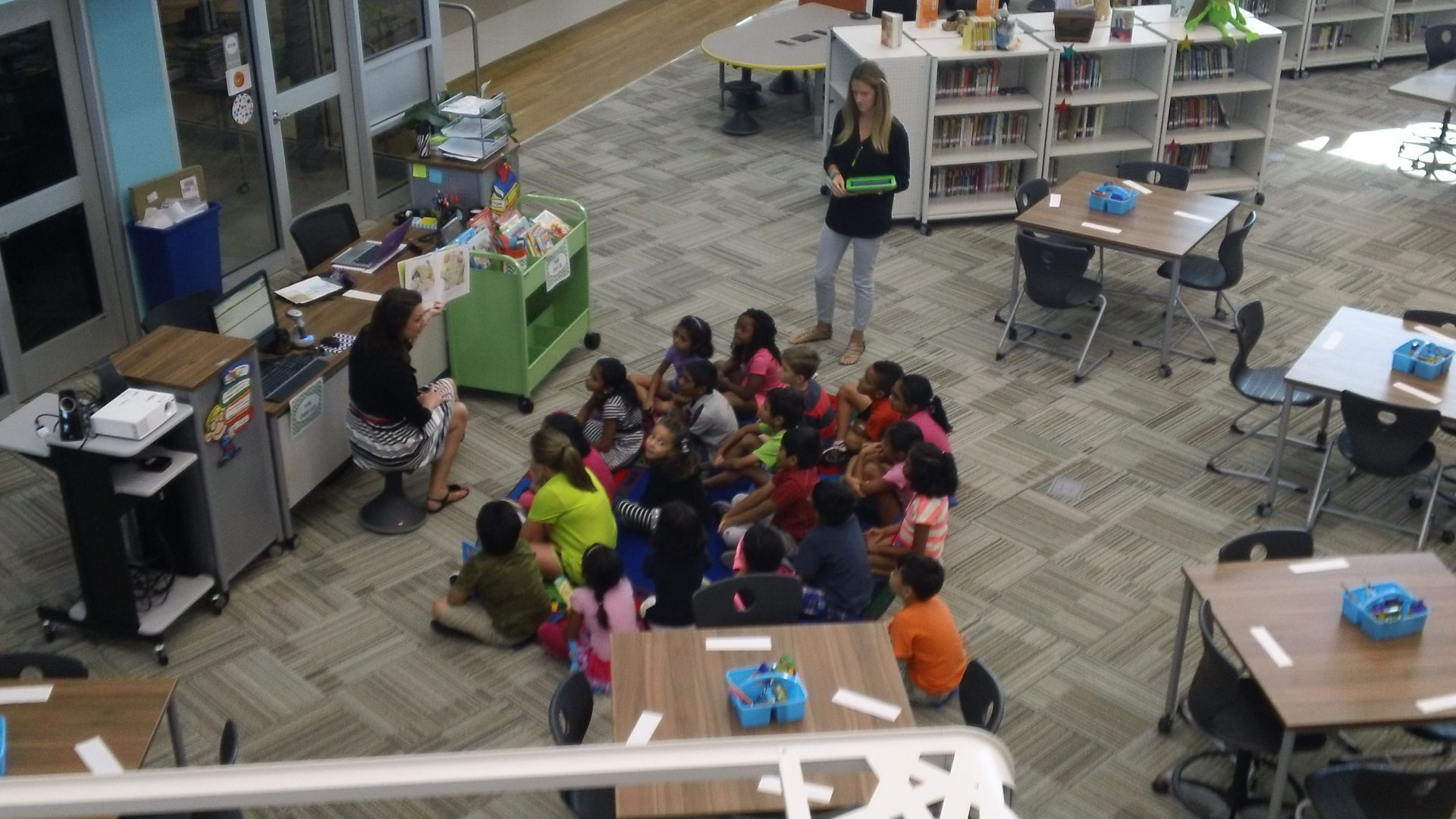Elementary Classrooms Of The Future : A look into the future at lee elementary school coppell gazette