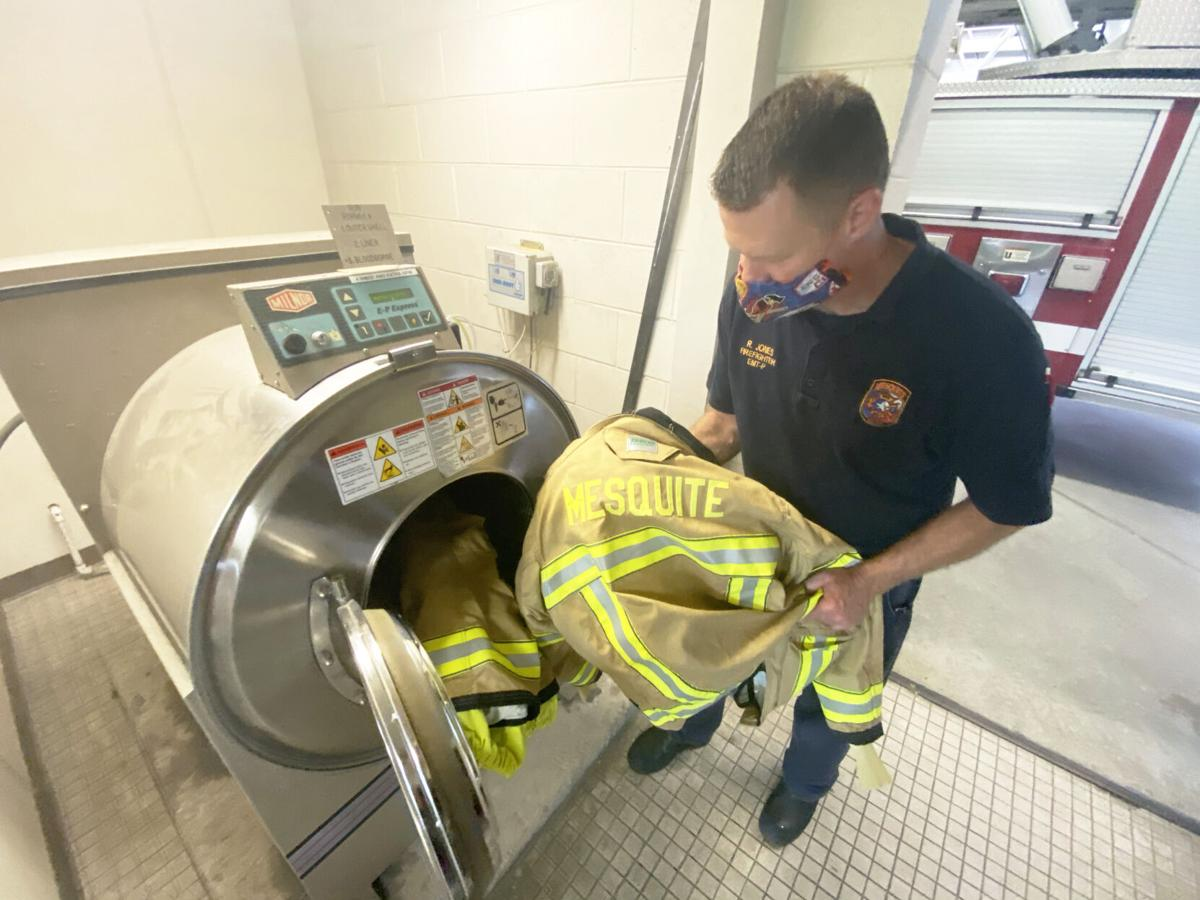 Mesquite Fire Department's new Firefighter Health and Safety Program