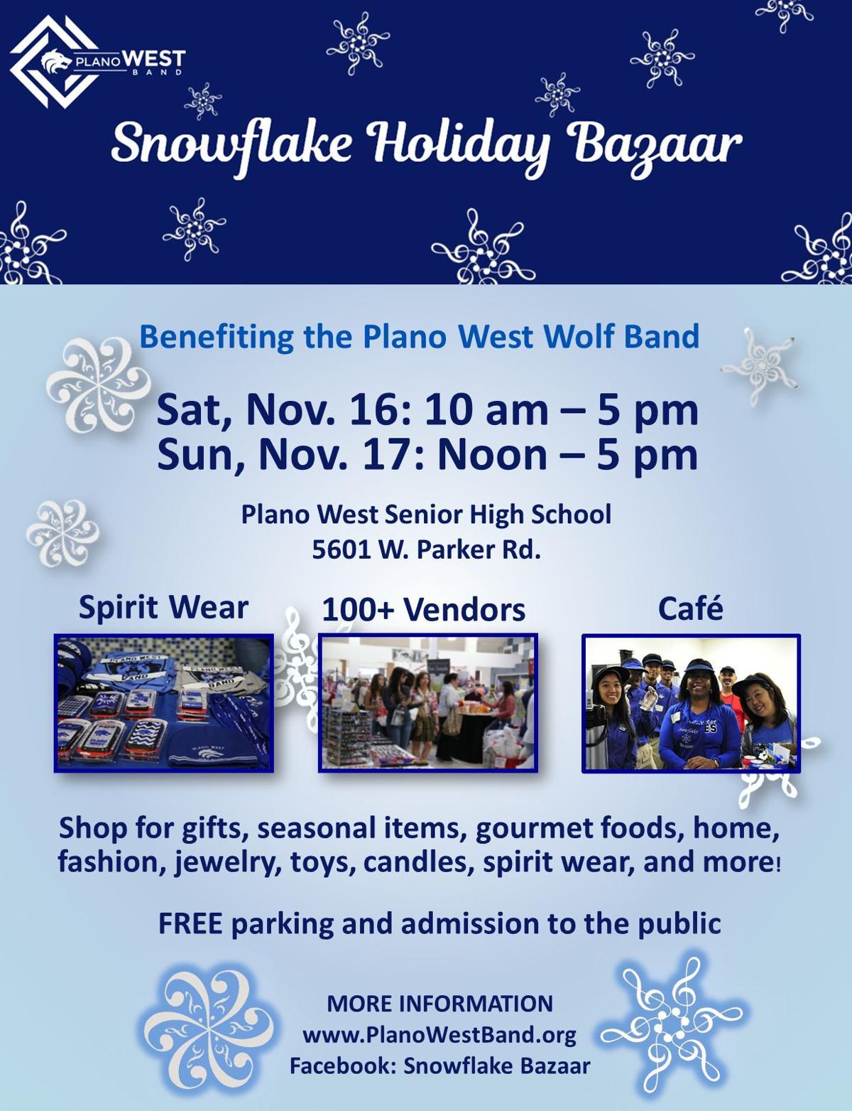 Snowflake Holiday Bazaar