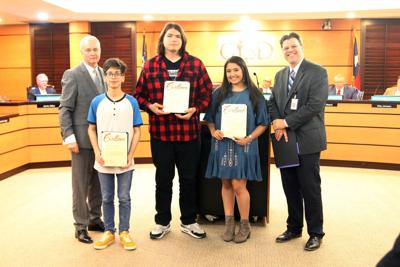 Six Garland ISD art students earned Gold Seals