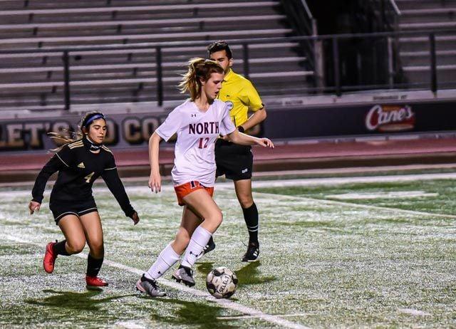 Alexa Pratt McKinney North girls soccer