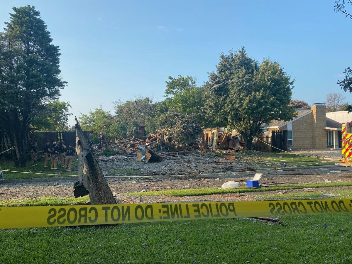 Plano house explosion