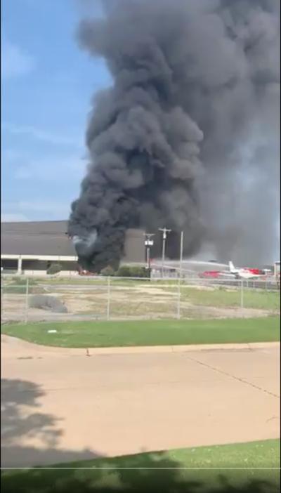 Plane crash in Addison