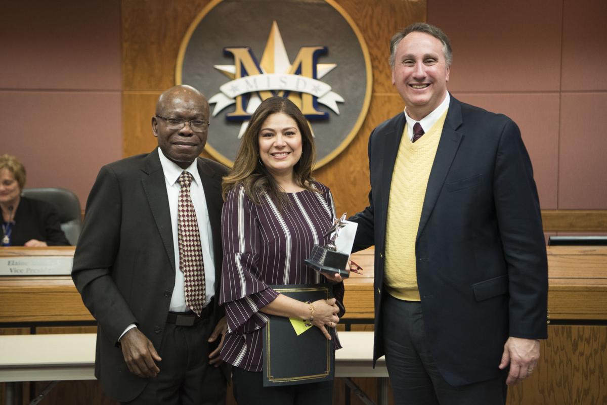 Mesquite ISD honors school aide