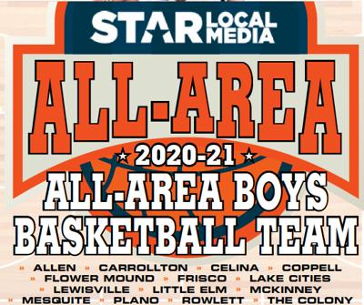 All-Area Boys Basketball Logo