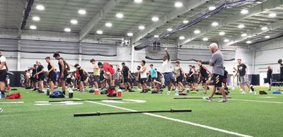 Plano East FB Workouts