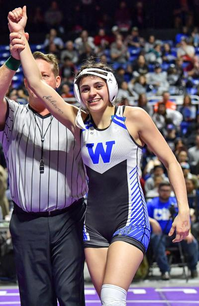 Plano West wrestling