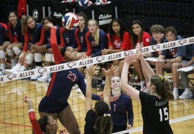 Allen volleyball Tori Wilson