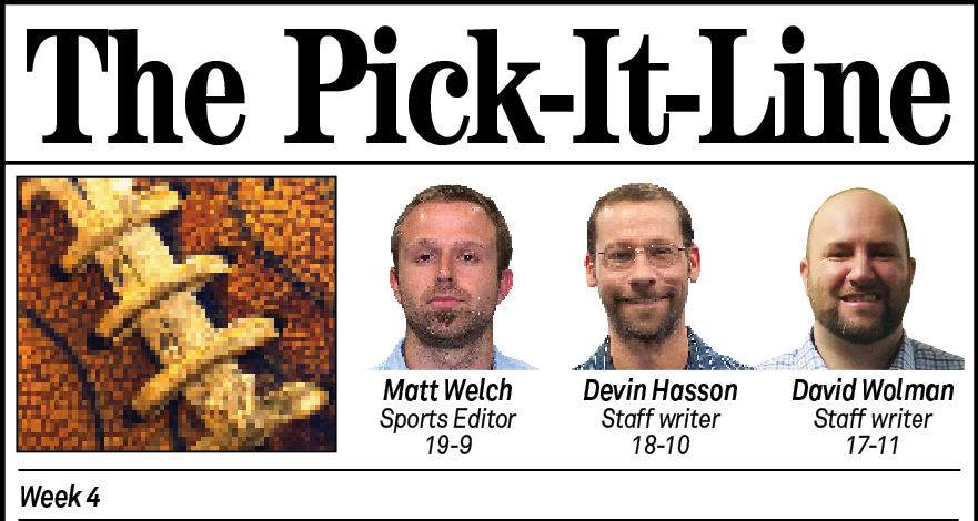 Pick It Line Week 4