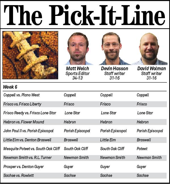 Pick It Line Week 6