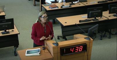 Lynne Finley debate