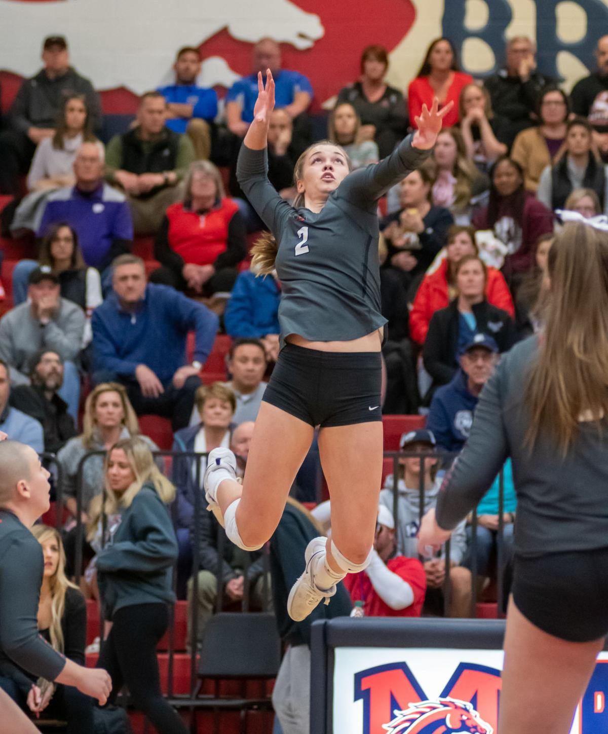 LIBERTY VOLLEYBALL JENNA WENAAS