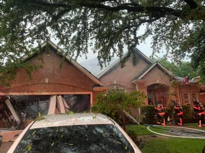 House fire in Flower Mound