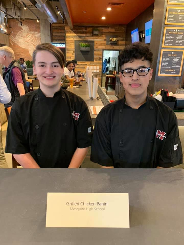 Mesquite High School culinary students win menu competition