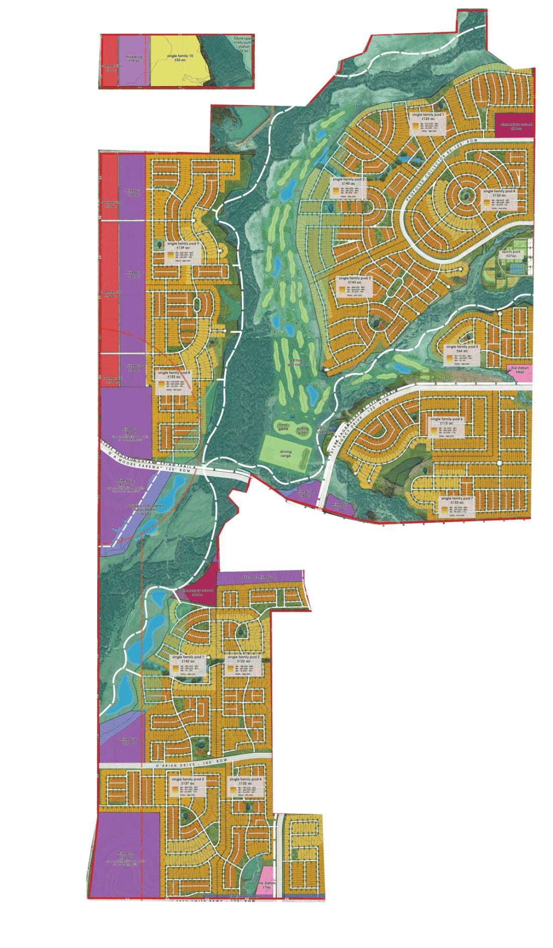 Celina Legacy Hills concept plan