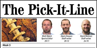 Pick it Line Week 5 Title