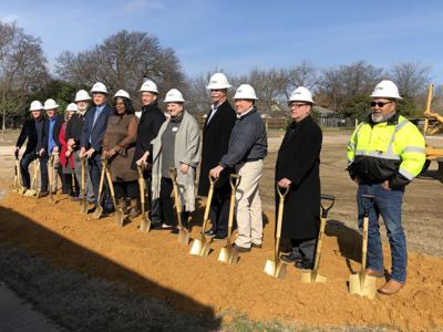 Frisco Family Services groundbreaking