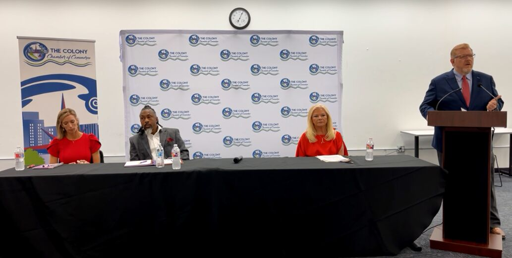 The Colony City Council candidates discuss vision for the city at chamber forum
