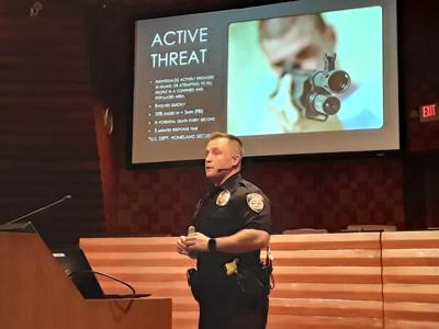 Active threat presentation FPD