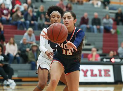 SACHSE GIRLS BASKETBALL BRIANA SALAZAR
