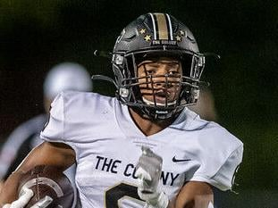 Duel of star backs: The Colony's Wesley outduels Independence's Bush in 44-32 win