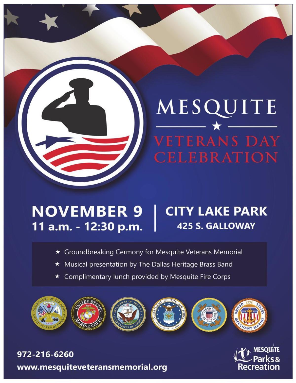 2019 Mesquite Veterans Memorial Day Celebration