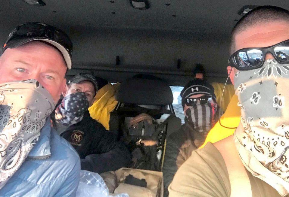 McKinney firefighers go to cali