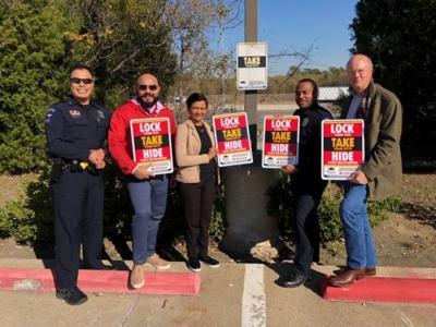 Mesquite Crime Prevention Unit replaces signs