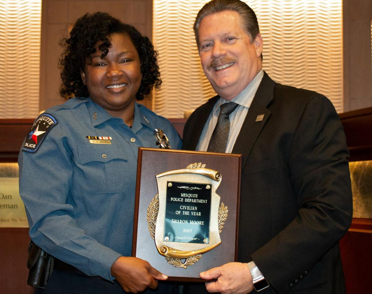 Mesquite Police Department employees receive meritorious