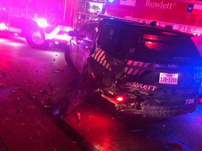 Second Rowlett Police unit to be hit by drunk driver