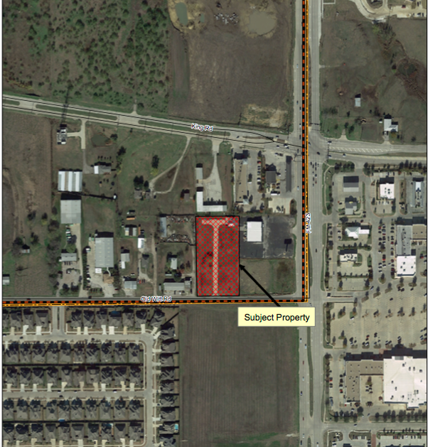 Public Storage. Photo Courtesy Of The Town Of Little Elm