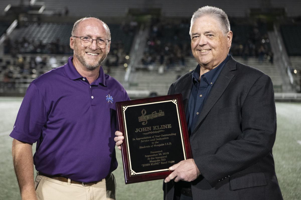 John Kline Band Night honors retired fine arts director