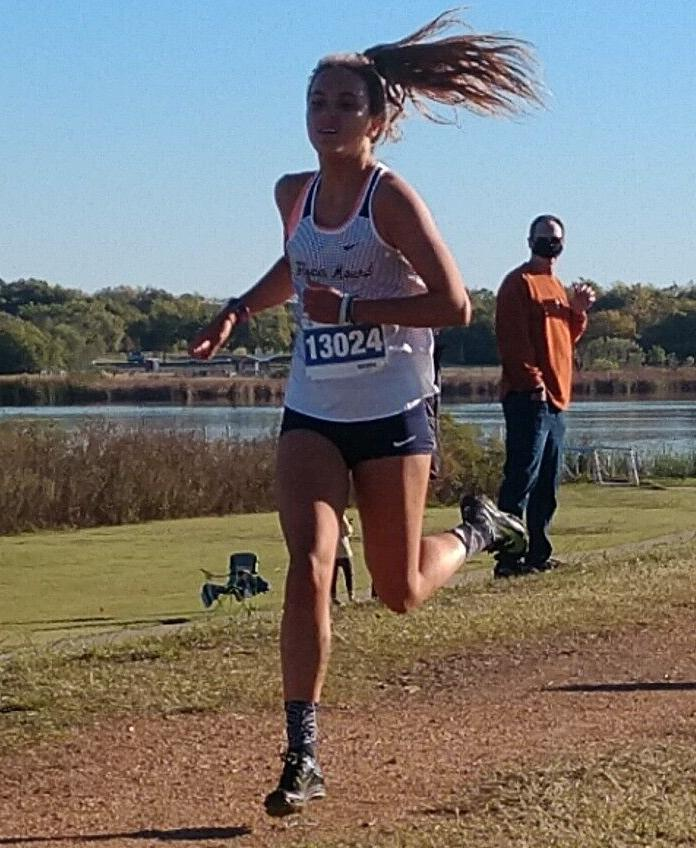 Flower Mound cross country Natalie Cook