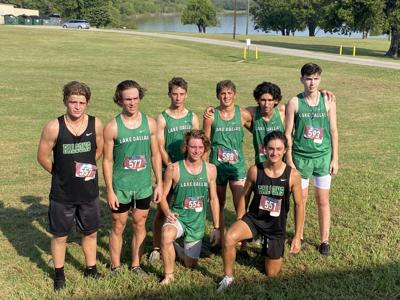 Lake Dallas boys cross country