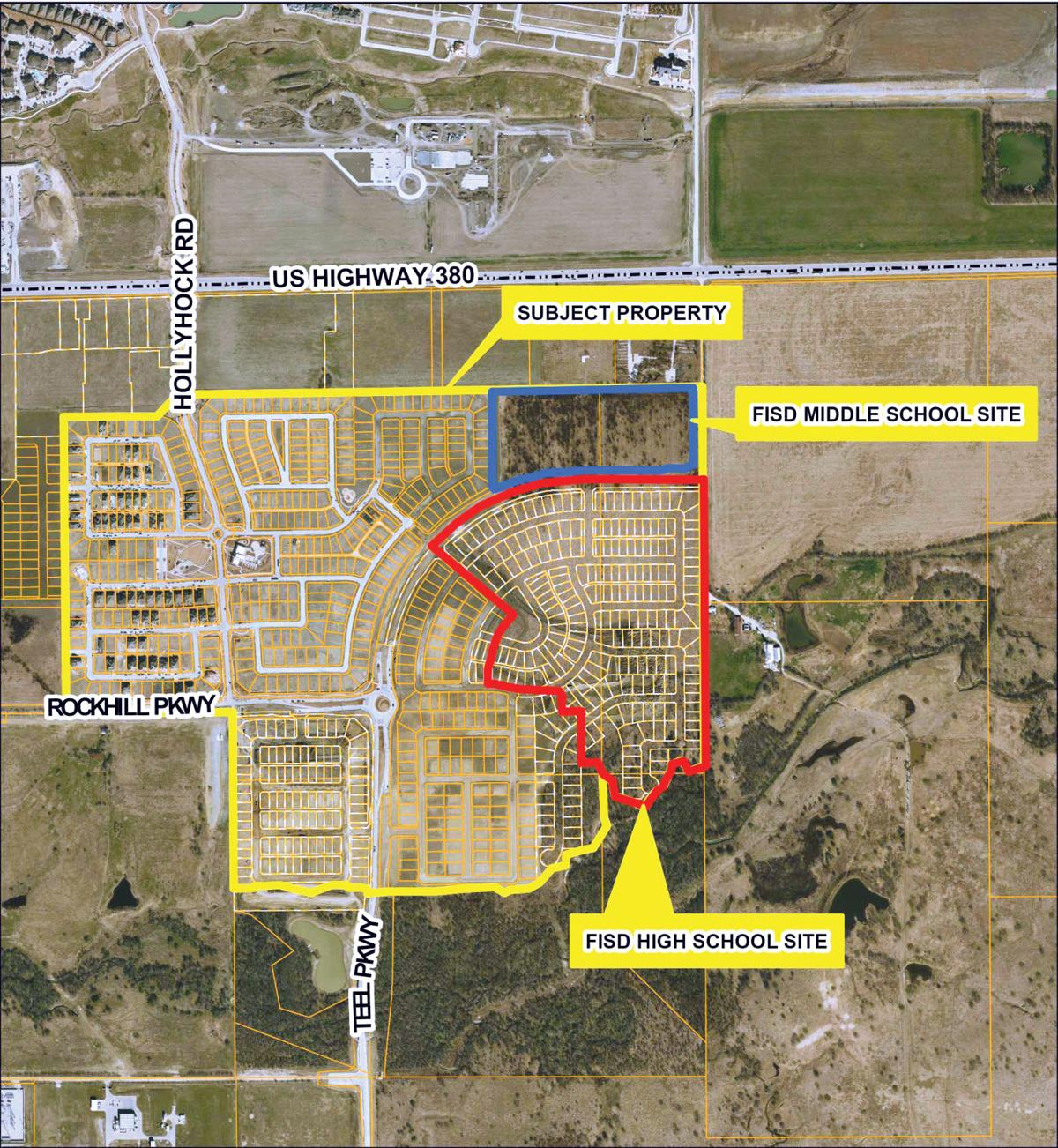 Middle, high school lots in FISD